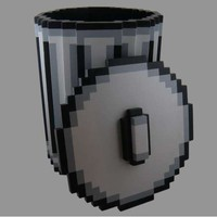 Pixel Trash Can | CMYBacon