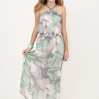 All Aflutter Butterfly Maxi Dress