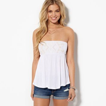 AEO Women's Beaded Tie Back