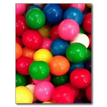 Colorful Gum Ball Candy