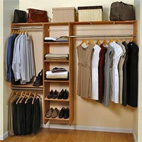 "Costco - Cedar Green 96"" Complete Cedar Closet Kit"