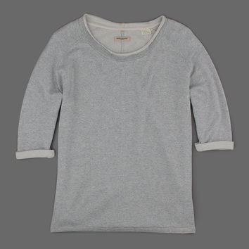 MILL MERCANTILE - Levi's Made & Crafted - Dipper Fleece Crew in Grey Melee