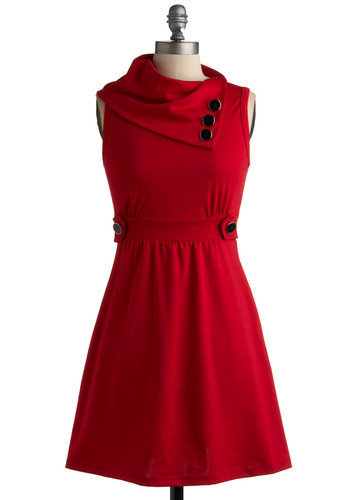 Coach Tour Dress in Rouge | Mod Retro Vintage Dresses | ModCloth.com