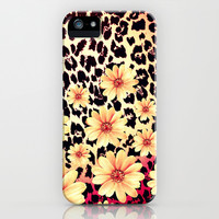 Wild Flowers - for Iphone iPhone & iPod Case by Simone Morana Cyla