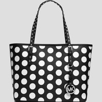 MICHAEL Michael Kors Tote - Jet Set Travel Dot Small
