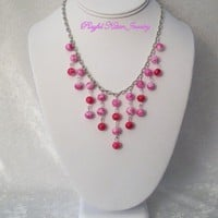 Cherry Blossom Necklace | PlayfulKittenJewelry - Jewelry on ArtFire