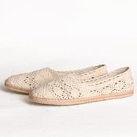 Rocketdog Chillout Crochet Flats - &amp;#36;38.99 : ShopRuche.com, Vintage Inspired Clothing, Affordable Clothes, Eco friendly Fashion