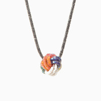 Totokaelo - Peppercotton Small Knot Necklace - $634.00