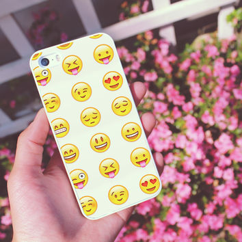 Emoji iPhone Case 5/5S 5C 4S/4