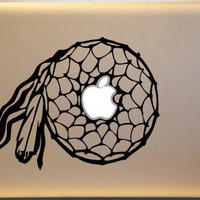 Dreamcatcher Southwestern Vinyl Macbook Decal ORIGINAL Design | MakeItMineDesigns - Techcraft on ArtFire