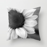 Sun Flower Throw Pillow by Pitman Art | Society6