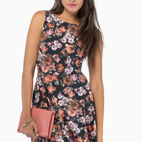Nobody's Business Floral Dress $42
