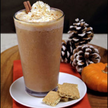On the Blend! (Sippable Pumpkin Pie!)