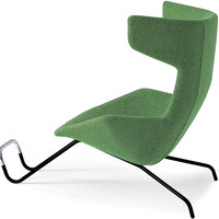 take a line for a walk armchair with footrest