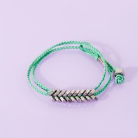 Hex Wrap Bracelet - Mint in  Clothes at Nasty Gal