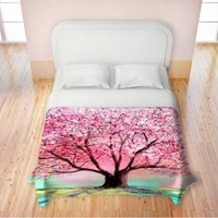 Duvet Cover Brushed Twill Twin, Queen, King from DiaNoche Designs by Aja-Ann Home Decor and Bedding Ideas - Story of the Tree lxxiv