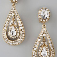 Kenneth Jay Lane Antique Drop Earrings | SHOPBOP
