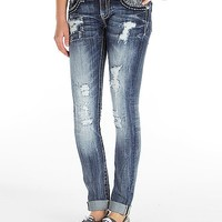 Miss Me Cuffed Skinny Stretch Jean