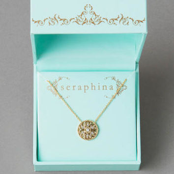 SERAPHINA HEART MEDALLION NECKLACE