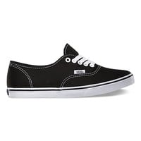 Vans Canvas Authentic Lo Pro (Black/White)