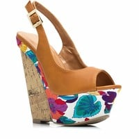 Aloha Tropical Wedges - GoJane.com