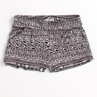 Kirra Knit Print Shorts