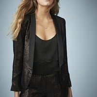 Kate Moss for Topshop Lame Tuxedo Jacket