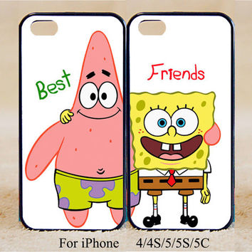 Best Friends ,Double Cases,iPhone 5s Case iPhone 5c case iPhone 5 case, iPhone 4 Cases iPhone 4s Cases,Samsung Galaxy S3,S4,Couple Csae