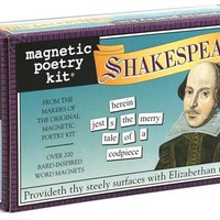 Shakespeare - Magnetic Poetry