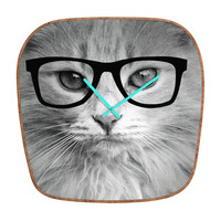 Allyson Johnson Hippest Cat Modern Clock