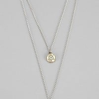 Lovebullets Double Drop Necklace - Urban Outfitters