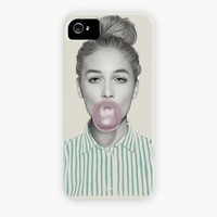 """Bubblegum Jane"" - Phone Case by Kei Meguro"