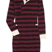 Isabel Marant Grady striped cotton-jersey dress