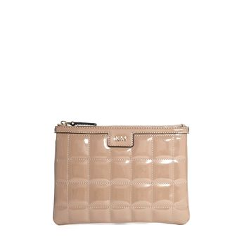 Signature Quilted Clutch Bag