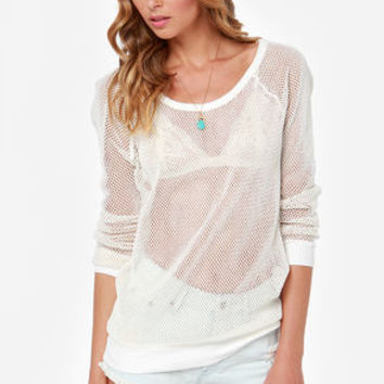 Gentle Fawn Fiesta Ivory Sweater Top