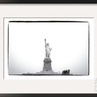 Statue of Liberty, c.1982 Framed Art Print by Andy Warhol at Art.com