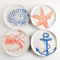 Timber Cove Plates, Set of 4 | Dinnerware| Kitchen &amp; Dining | World Market