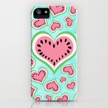 Watermelon Love... iPhone & iPod Case by Lisa Argyropoulos | Society6