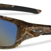 Oakley Valve Woodland Camo Shallow Blue Polarized Sunglasses