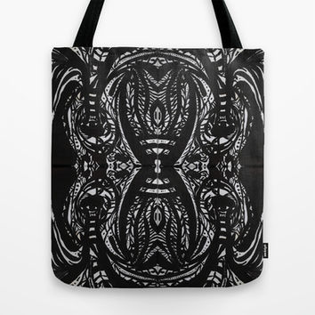 Light and Shadow especularity Tote Bag by Barruf