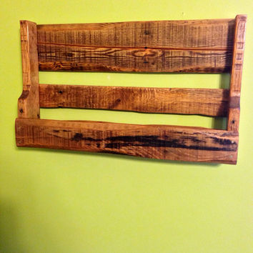 Rustic Reclaimed Shelf, Rustic Nursery, Rustic Bookshelf, Reclaimed Bookshelf