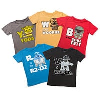 S is for Star Wars Kids' Tees -