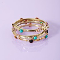 Stacked Stone Bangles  in  What&#x27;s New at Nasty Gal