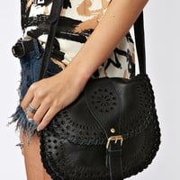 Sierra Crossbody Bag - Black  in  What&#x27;s New at Nasty Gal