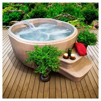 Luna Plug & Play 4 Person Spa in Sandstone