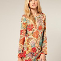 French Connection | French Connection FC72 Vintage Paisley Print Tunic at ASOS