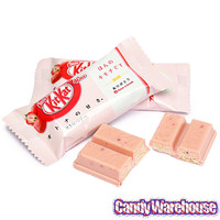 Nestle Kit Kat Miniatures Packs - Strawberry: 12-Piece Bag | CandyWarehouse.com Online Candy Store