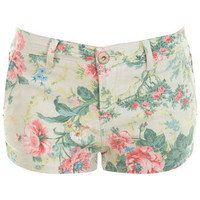 Neon Floral Short - Shorts  - Clothing  - Miss Selfridge
