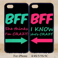 Best Friend ,Double Cases,iPhone 5s Case iPhone 5c case iPhone 5 case, iPhone 4 Cases iPhone 4s Cases,Samsung Galaxy S3,S4,S5,Couple Csae