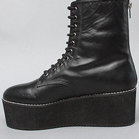 BOTB by Hellz Bellz The Stomp Boot in Black : Karmaloop.com - Global Concrete Culture